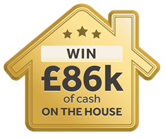 Win £86,000 cash on the house